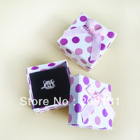 Jewelry Pouches,Bags   6PCS Ring, Jewelry Paper box , free shipping