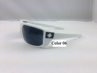Wholesale White Frame Spy6 Sunglasses SPY MCCoy Sun Glasses Multi Color Men Cycling Sports GOGGLES SUN GLASS Sunglass Good Quality Factory Price
