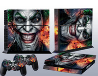 Cheap ps4 skin sticker Best all tested before shipping Protectiver sticker clown vinyl