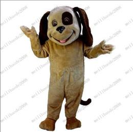 новый пятнистая собака пользовательских мультфильма костюм талисмана плюша Рождество MYY8799