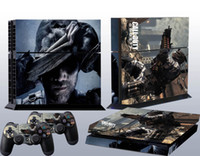 ps4 all tested before shipping Protectiver sticker Call Of Duty Ghosts Vinyl Skin Sticker for PlayStation4 PS4 & 2 controllers