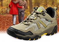 Men Winter PU 2014 New Arrival Brown Color Leather Hiking Boots Men Hiking Shoes free shipping