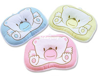 Wholesale Boys Girls Nursing Pillow Support Shape Soft velvet Newborn Infant Pillows Cartoon Animal Bear Baby Pillow Gift