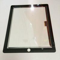 Wholesale Black white Touch Screen digitizer for iPad Touch Screen glass pannel for ipad ipad ipad kingdom2013