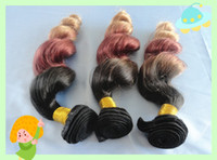 """European Hair Loose Wave from 12inch to 28inch 2014 So Hot Ombre Hair Weft 3 Tone Color #1b #33 #27 Virgin remyHair loose Wave 18 18 18inch 3 pcs lot 12""""-28"""" in stock Free Shipping"""