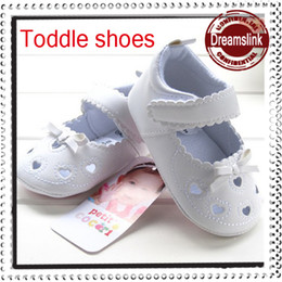 2014 spring summer fall new Baby Kids Children's student girls princess casual shoes white color toddle leather shoes first walking