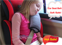 Wholesale Quality Soft Auto Car Baby Kid Child Safety Seat Belt Cover amp Strap Vehicle Truck Security Belt Grey