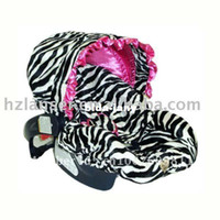 baby car seat covers zebra - baby car seat cover infant with canopy zebra with hot pink soft handfeel