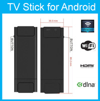 Wholesale NEW Vsmart V5 tv stick Miracast WiFi Display ipush EZCast HD Media player Streamer Android Airplay better than Chromecast mk888