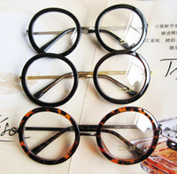 Wholesale Vintage Round Eyeglasses Frames Spectacle Frames Glasses Metal Leg Multi Color For Unisex Fashion Accessories YJ035