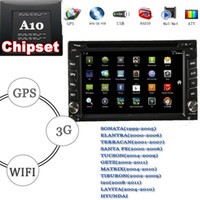 "2 DIN Special In-Dash DVD Player 6.2 Inch Free Shipping 6.2"" double din touch screen car dvd android hyundai sonata elantra terracan santa fe tucson getz matrix tiburon i20 lavita"