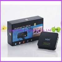 Wholesale Dual Core Smart Android TV Box jelly beans GB RAM GB ROM Amlogic MX GHz dual core Cortex A9