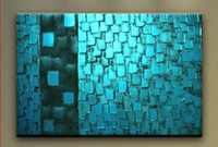 One Panel Oil Painting Abstract Modern   Abstract Oil Painting hand-painted oil wall art oil painting on canvas XD1-198