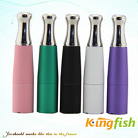 Wholesale Kingfish Atomizer Electronic Cigarette vaporizer Pen Vapor ego D E Cigarette atomizer Wax Atomizer dry wax tank New Vape factory price