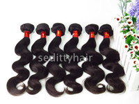 Wholesale Sedittyhair Virgin Hair Body Wave Top Quality A Hair Unprocessed Hair Extensions new Style Human Hair Weave