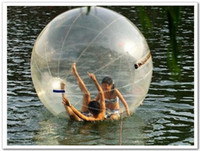 Wholesale FEDEX free M feet TPU Water Walk ball pool inflatable ball multi function water ball dancing ball transparent water ball