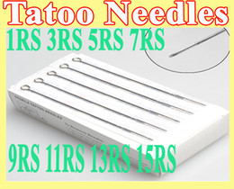 Wholesale Tattoo Needles Professional Assorted Round Shaders RS RS RS RS RS RS RS RS Stainless Steel
