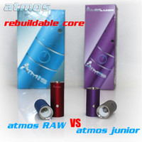 Wholesale Atmos rebuildable coil head for RAW vs RX junior Color Matching atmos dry herb atomizer core Portable Vaporizer Electronic cigarettes kits