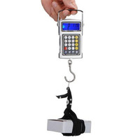 Digital scale 10kg-100kg Portable Handle Hook Scale Free Shipping New 50Kg x 20g Fish Hook Hanging Digital Weighing Scale Portable Electronic Scales Poket Kitchen Food Scales