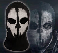 Costume Accessories call of duty - High Quality New CALL OF DUTY X GHOST Ghosts MASK SKULL Game Face
