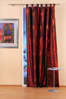 Wholesale Chambrays large embroidered curtain finished product ZHD013