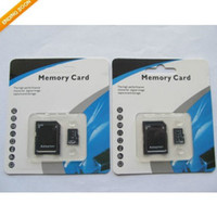 Wholesale 64GB SDHC Class No Name Brand TF Memory Card C10 SD Card With SD Adapter Blister Retail Package Day Dispatch Free Dropshipping New