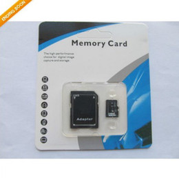 Wholesale 64GB Micro SD Card Class No Name Brand TF Memory Card C10 SD Card With SD Adapter Blister Retail Package Day Dispatch BestSeller