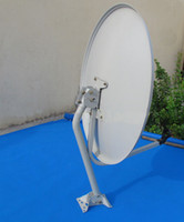Wholesale 60cm ku band satellite dish antenna offset antenna dish