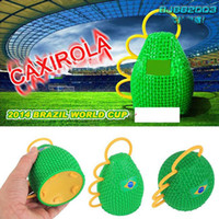 Wholesale 2014 Brasil World Cup fans horn Caxirola new vuvuzela official football games cheering props brazil soccer world cup
