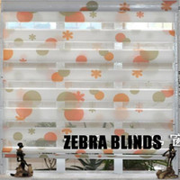 blinds - 1pc art zebra roller blinds curtains custom made finished blinds colors can