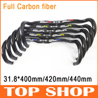Wholesale FSA SLK Full Carbon Fibre Bent Handlebar k mm Road Handlebar TT Bicycle Handlebar