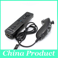 Wholesale Nunchuk Wii in1 Remote and Controller Built in Motion Plus Remote Nunchuk Silicon Case High Quality
