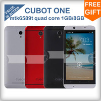 4.7 Android 1G CUBOT ONE 4.7inch HD Screen MTK6589T 1.5Ghz Quad Core Smart Phone 1G 8G 8.0MP camera Android 4.2 OS