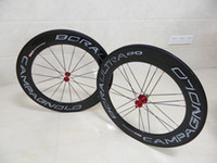 Wholesale 2014 Campagnolo Bora Ultra Two G3 mm Tubular Clincher Carbon Wheels Full Carbon Fiber Road Bike Bicycle Wheelset C