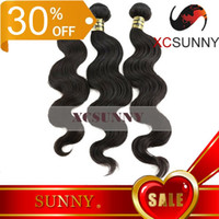 Wholesale 30 OFF A Body Wave Mix Length Brazilian Malaysian Peruvian Indian Virgin Remy Unprocessed Human Hair Weft Weave