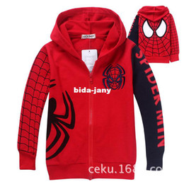 Discount Spiderman Boys Child Coat | 2017 Spiderman Boys Child ...