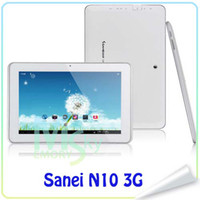 sanei n10 quad core - New Android Sanei N10 Tablet PC Quad Core G with inch IPS GPS Bluetooth Screen Dual camera