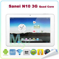 Sanei sanei n10 quad core - Tablet PC Android New Sanei N10 Quad Core G with inch IPS GPS Bluetooth Dual camera HD Screen Top Qaulity