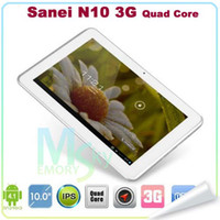 sanei n10 quad core - Tablet PC Quad Core New Sanei N10 Android G with inch IPS Screen Dual camera GPS Bluetooth hot sale HD Screen