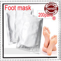 Wholesale Exfoliating Foot Mask foot care mask foot care health care pairs bags Spring Foot Beauty