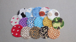 Wholesale Waterpoof reusable cloth bamboo charcoal mummy Nursing pads breast pads pairs milk pads