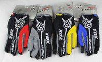 Wholesale new Motocross Gloves brand Fox Motorcross Gloves Color Motorcycle Mountain Biking Moto bicycle bike Cycling Gloves