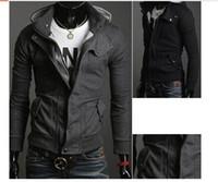 Men ouwear - W04 Men s Cotton Outwear Coat Men s Jacket boy s Ouwear Coat largest size XXXL