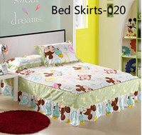 Cheap 100% Cotton Bed Sheets Best Printed Home Bed skirts