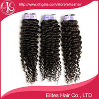 Wholesale 100 Malaysian Deep Wave Virgin Hair Weft Extension Remy Human extensions g pc Mixed Length quot quot DHL MH503