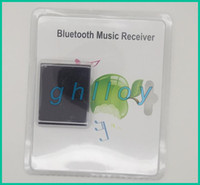 Wholesale Wireless Bluetooth Music Audio Receiver Adapter for iphone ipad iPod touch Pin Dock Speaker