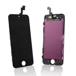 Pour iPhone 5S Display Digitizer écran LCD tactile avant pour Iphone 5S noir blanc