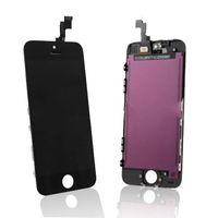 Для iphone 5S Экран касания экрана цифрователя экрана LCD перед для Iphone 5S Черный белый