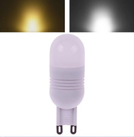 Wholesale 3W G9 LED SMD LED Light Ceramic Bulb Lamp Warm Pure White v V