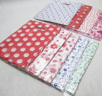 Wholesale Plastic Shopping Gift Packing Bags Snow Pattern Shopping Gift Plastic Bag Retail Shop Packaging Bag x32cm